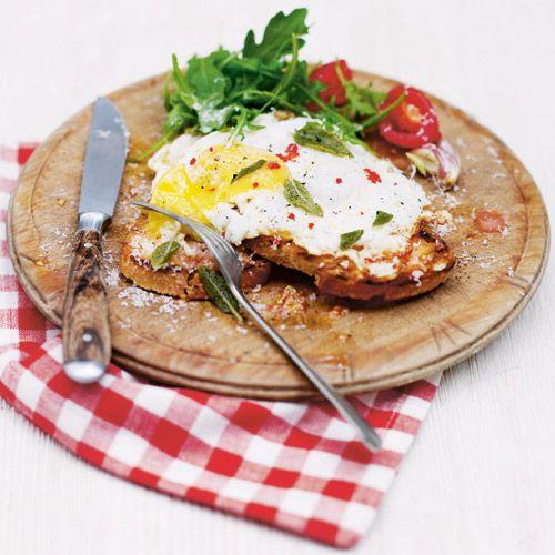 Tomatentoast met ei recept - Jamie magazine