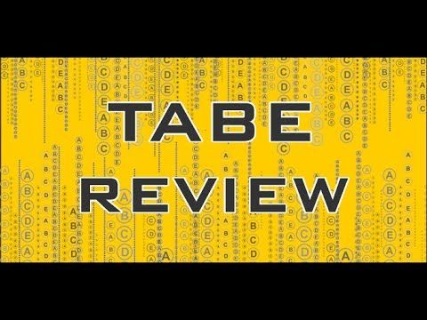 http://www.tabesecrets.com  Relying on the right study materials is absolutely essential for success on the TABE test. What you see in the video is only a tiny sample of the high quality prep materials in our TABE study guide.  Get everything you need for TABE success in our study guide. Take advantage of practice tests, and helpful study techniques to achieve your goal of getting a great score on your TABE exam!  #tabe #test #mometrix