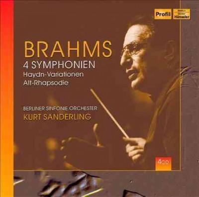 Berliner Sinfonie Orchester - Brahms: 4 Symphonies