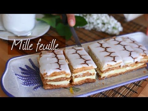 How to make mille feuille | Recipe video - YouTube
