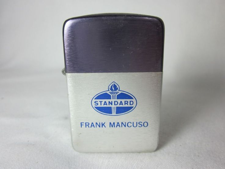 Park Lighter Standard Oil FRANK MANCUSO Vintage Advertising #Park
