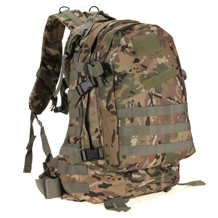 Excellent quality 55L 3D Outdoor Sport Military Tactical Backpack Rucksack Bag for Camping Traveling Hiking Trekking ** Click the VISIT button to view the details