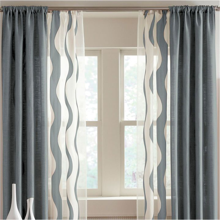 Studio Nolita Solid and Sheer Window Treatments