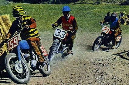 1958 カタリナGP #33  Yamaha Road Racing