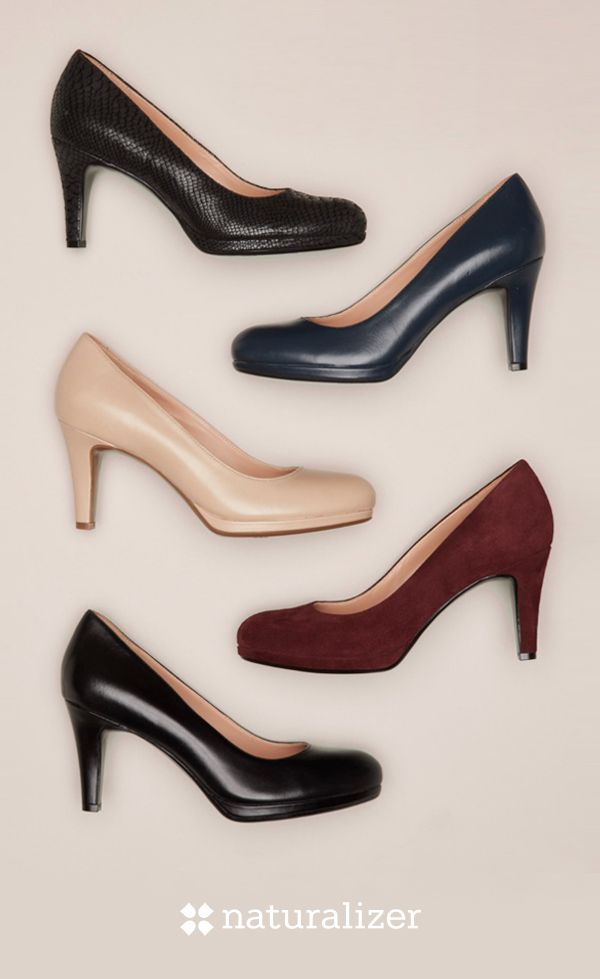 Dressing for work shouldn't be work. Meet the Michelle – the most fitting pump ever. It's the style you can wear every day, with everything. With our N5 Contour innovative comfort technology, this sleek pump will give you a reason to look forward to Mondays. Available in an array of colors, sizes and widths.