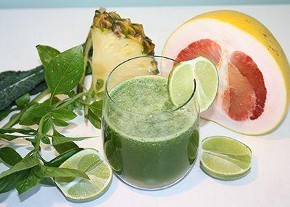 Green Citrus Pineapple Punch | Reboot With Joe