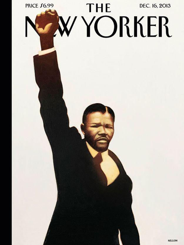 Mandela en Une du New Yorker