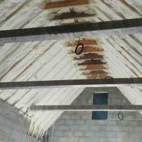 Spray Foam Insulation on Rafters