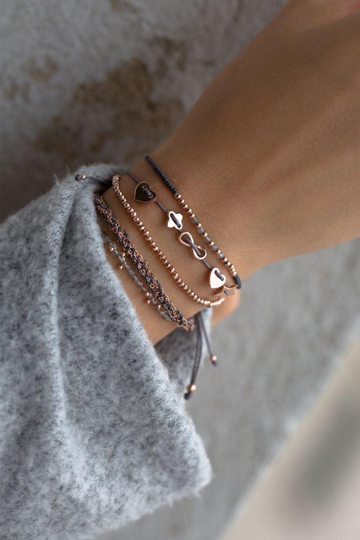 Faszinierende Details lassen Sie sprachlos #bracelets #rose #rose WWW.N