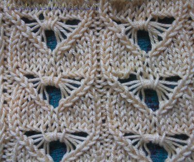 dragonfly knitting stitches
