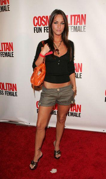 megan fox short hair   More Angles of Megan Fox Short Shorts