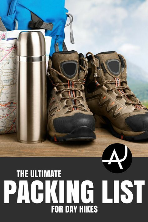 Day Hike Checklist - Best Hiking Backpacks – Packing Tips For Backpacking – What To Pack For Hiking – Hiking Gear For Women, Men and Kids via @theadventurejunkies