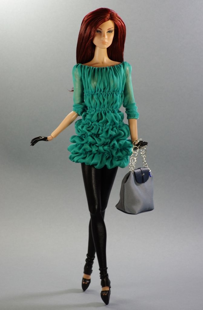 This outfit and shoes will be fit for Fashion Royalty dolls, and all