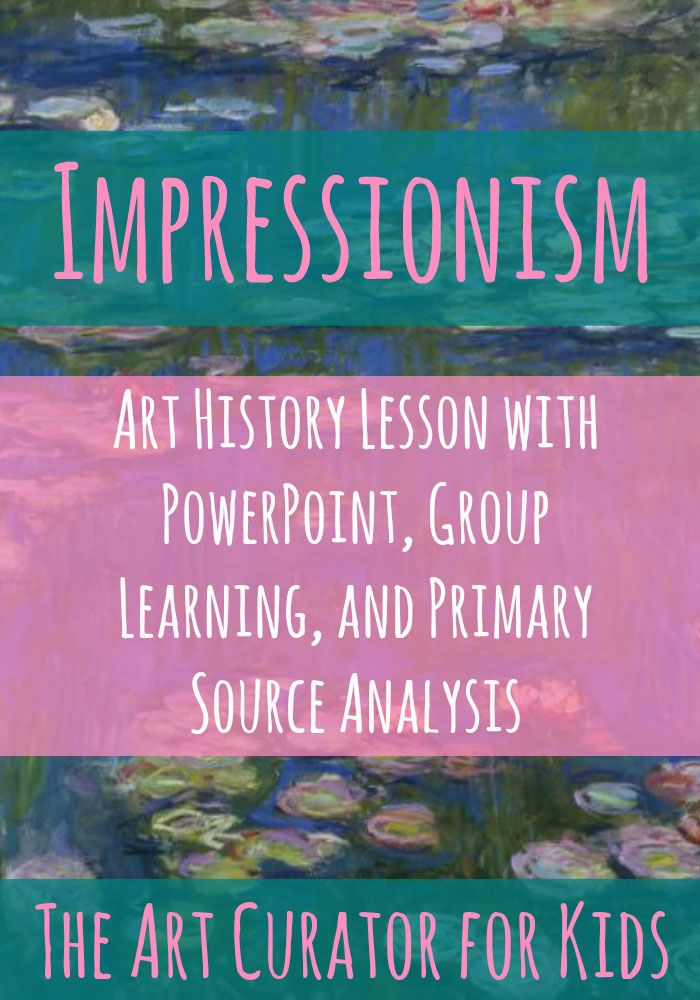 58 best images about Impressionism for Kids on Pinterest | Art ...