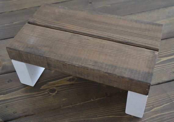 Rustic Kids Little Boost Step Stool by CarriageHouseCreek on Etsy