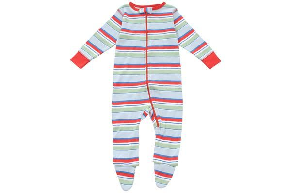 footed pajamas in finish line - Sweet Peanut