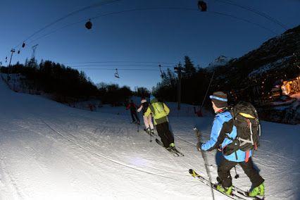 Serre Chevalier Vallée - Ski de randonnée de nuit à tester absolument !!