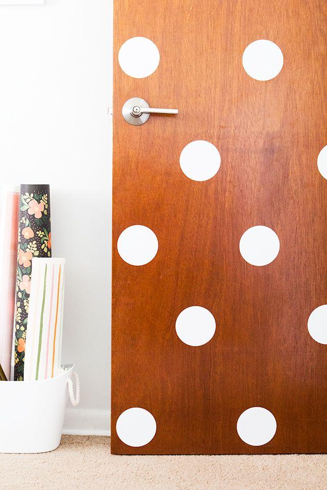 DIY Polka Dot Door 369 best For
