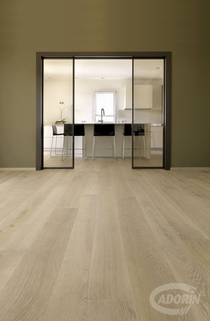 WOODEN FLOOR - European Select Oak, Rock. PAVIMENTO IN LEGNO - Rovere Select Europeo, Pietra. #cadorin hardwood three layers floors