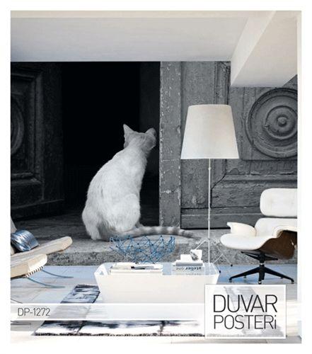 Kedileri seviyorum çünkü evimi seviyorum; yavaş yavaş evimin gözle görülür ruhu oluyorlar. SEVGİ DUVAR POSTER Ürün İçin: http://www.artikeldeko.com.tr/?urun-19969-sevgi-duvar-poster