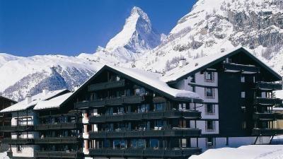 Hotel Alpenhof Zermatt in Winter