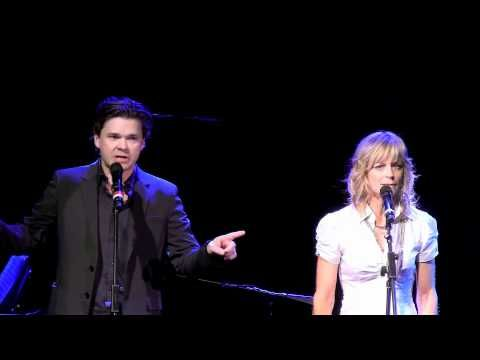 "Hunter Foster and Lisa Brescia performing ""Fine"" from the musical Ordinary Days."