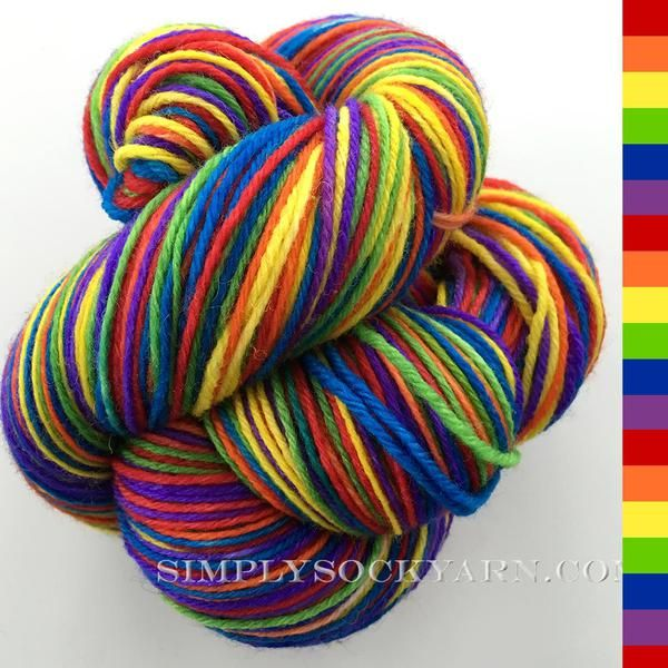 Simply Socks Yarn Company features KT Vesper Pure Prism.