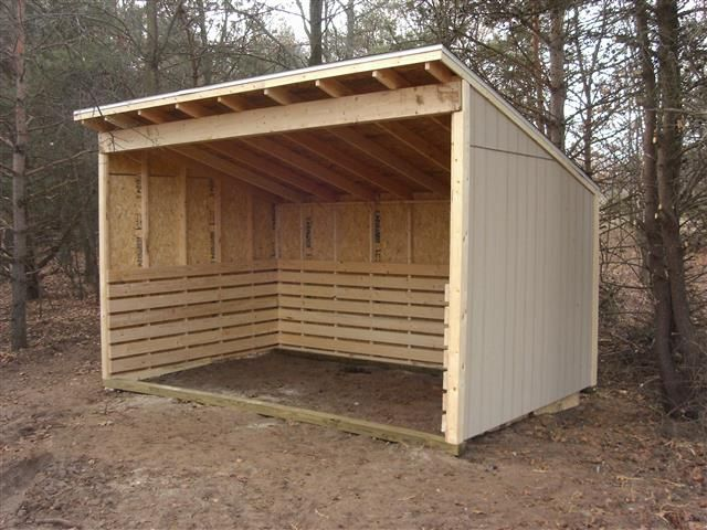 Small Hay Storage Shelter : Best horse run in shelter ideas on pinterest