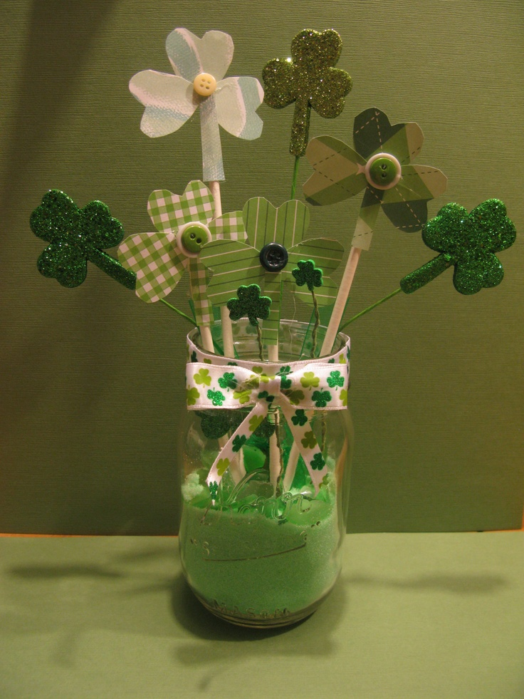 17 best images about st patrick 39 s day decorations on pinterest centerpieces st pattys and. Black Bedroom Furniture Sets. Home Design Ideas