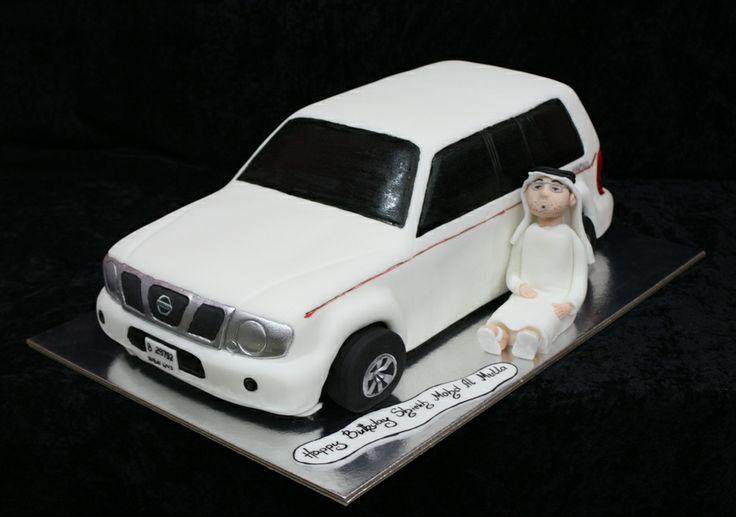 Nissan Patrol Birthday Cake