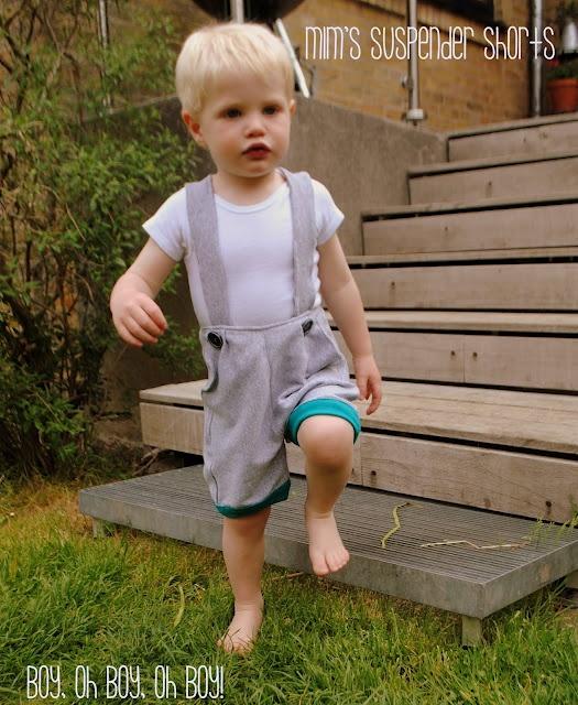 Boy, Oh, Boy, Oh Boy!: Mimi's Suspender Shorts