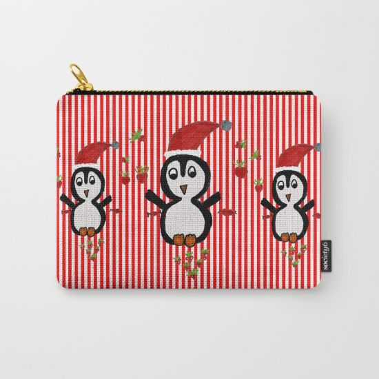 https://society6.com/product/my-penguin--christmas-spirit-dpl_carry-all-pouch?curator=azima $5 OFF TOTES, MUGS, POUCHES, PHONE CASES AND ALL STOCKING STUFFERS - FREE SHIPPING ON EVERY ORDER - ENDS TONIGHT AT MIDNIGHT PT!  #society6 #Christmas #shopping #sales #love #xmas #Noel #kids #painting  #gift #ideas #awesome