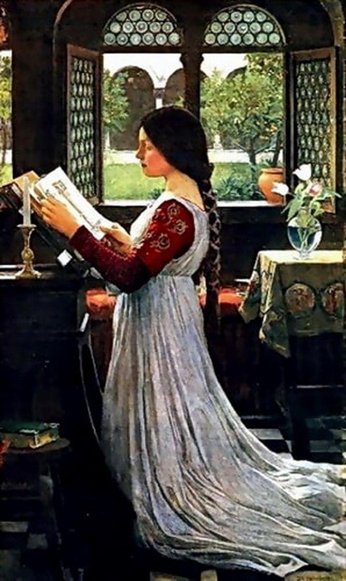 The Missal John William Waterhouse