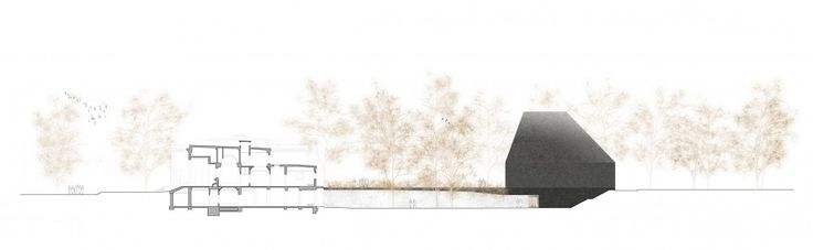 New Crematorium in the Hörnli Cemetary Competition Entry