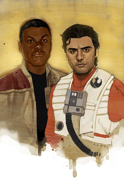 Phil Noto, Star Wars The Force Awakens, Space Bros