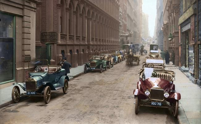 Flinders Lane, Melbourne, Victoria, early 1900s