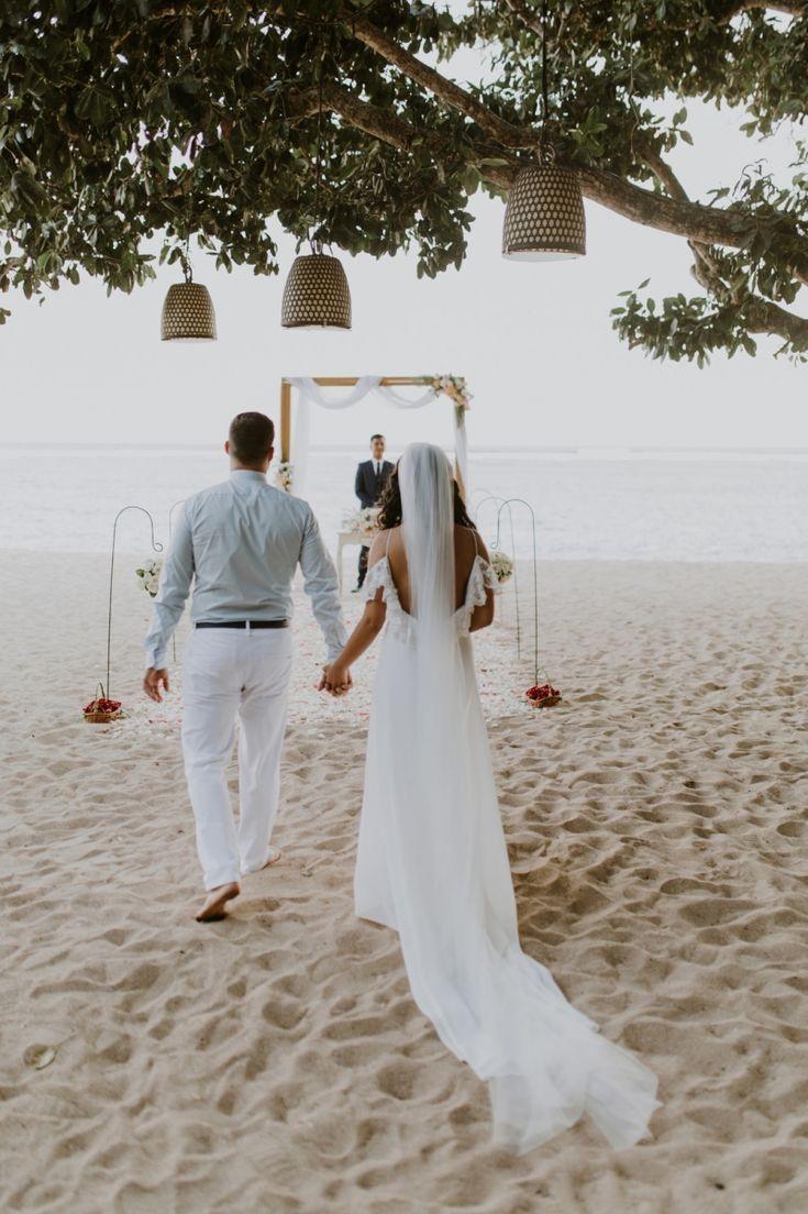 Romantic Nusa Dua Elopement at Samabe Beach in Bali, Indonesia