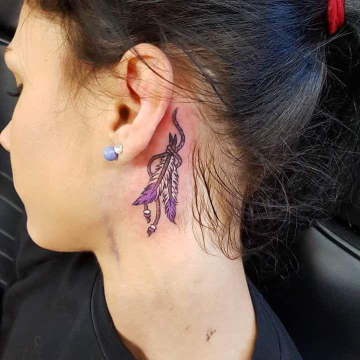 e2bd37ced119f6 69 Unconventional Ear Tattoo Designs to Drool Over - #designs #Drool #Ear # tattoo #Unconventional