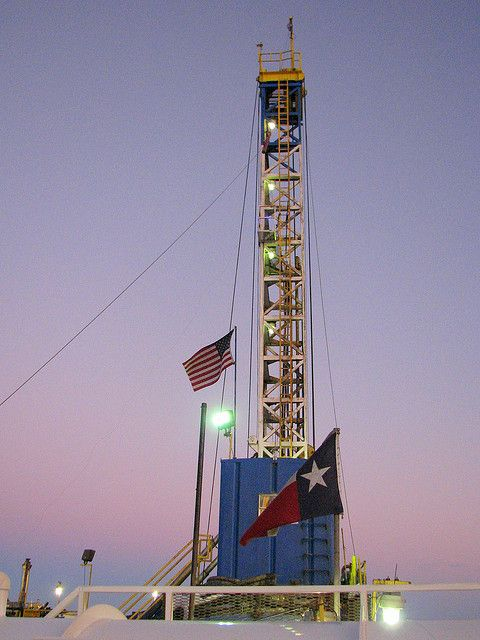 Proudly We Stand west texas oil rig