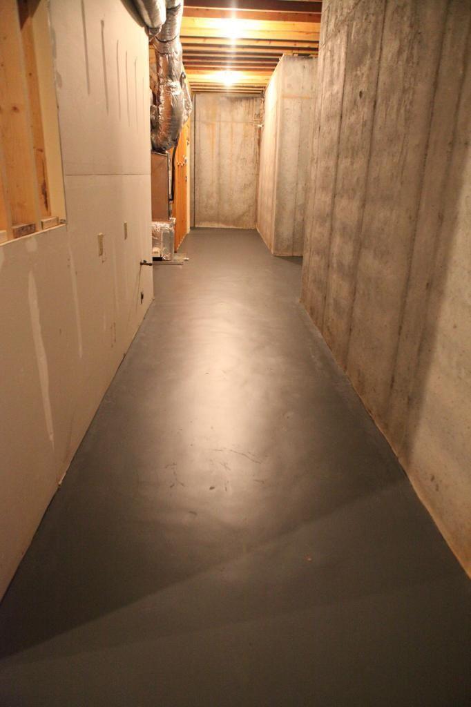 how to paint concrete floors basement floor design concrete rh pinterest com au