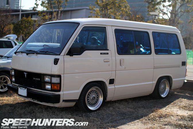 Toyota Hiace with BBS RS, because you can