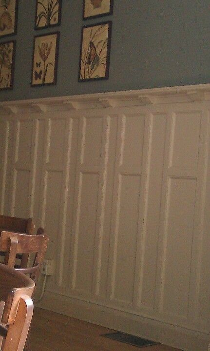 Mission Style Paneling : Wainscoting ideas on pinterest
