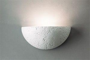Aplique de Yeso luz indirecta decorado