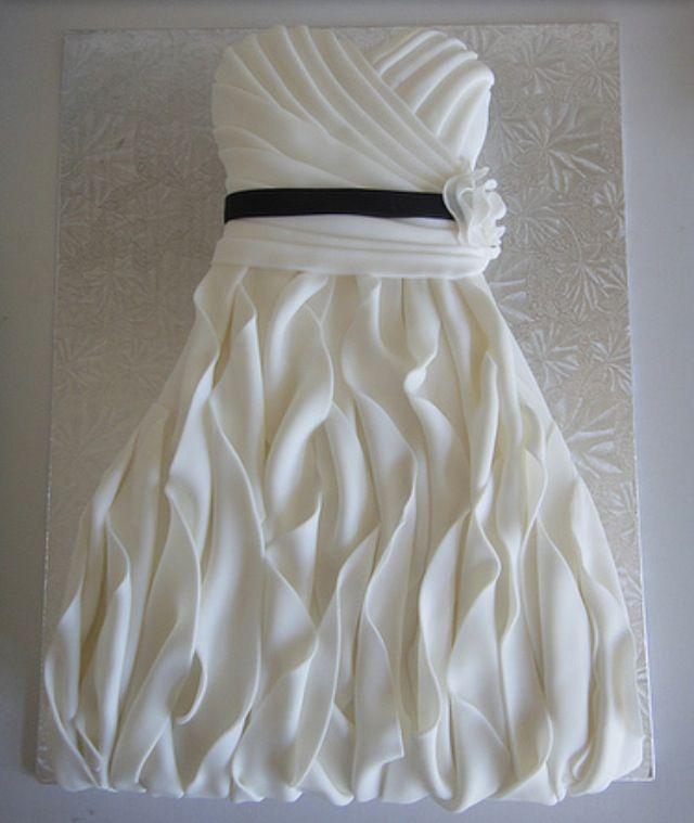 bridal shower gift ideas for bride philippines%0A Pics For  u   e Bridal Shower Cakes With Wedding Dress