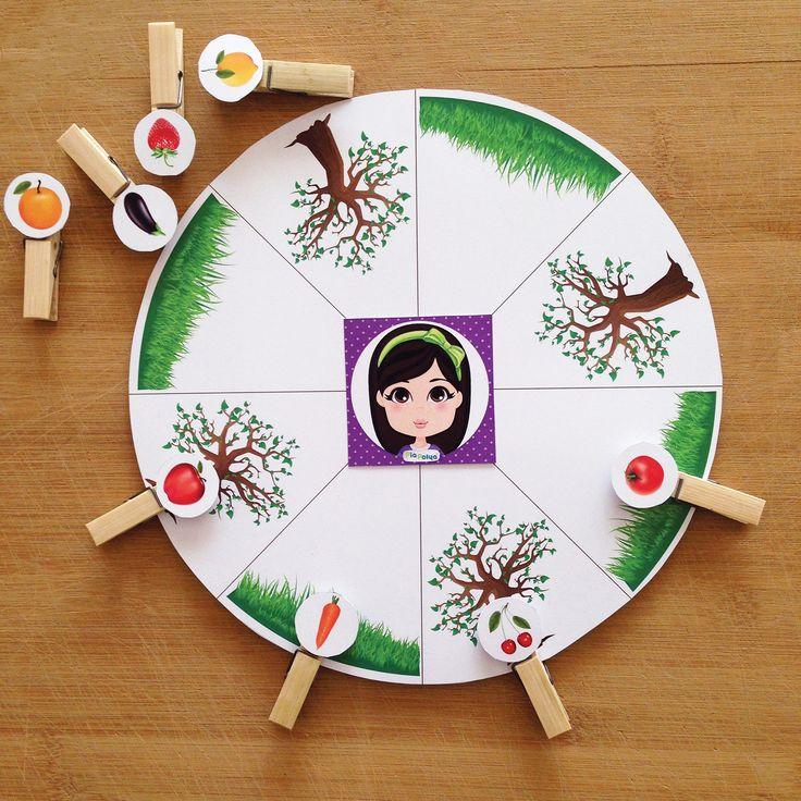 """""""Pia Polya Bu Sebze Nerede Yetişir Oyunu"""" Oyun, Pia Polya'nın tüm çocuklara hediyesi olup, fikir mülkiyeti Hotalı Ambalaj Tasarımına aittir."""
