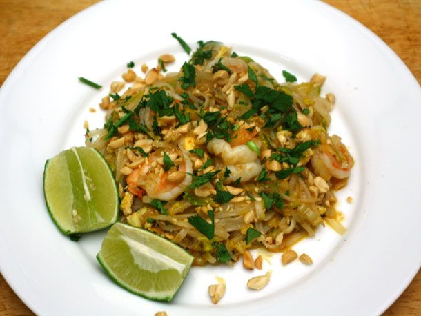 "Mark Bittman's Pad Thai --by one of my favorite chef/writers. He's taken a complicated dish and simplified it into what Serious Eats calls ""the best quick version of Pad Thai we've ever tried."""