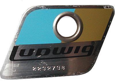 Ludwig drum badge dating