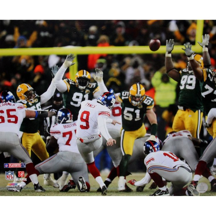 Lawrence Tynes Kick vs Green Bay 16x20 Photo - This is an Lawrence Tynes 16x20 photograph. Gifts > Collectibles > Nfl Memorabilia. Weight: 1.00