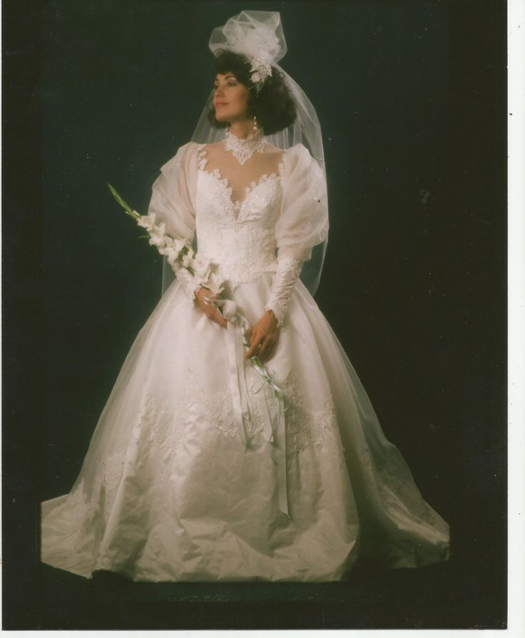 #TBT Throwback! Wedding Dress I Made From The Late 80's