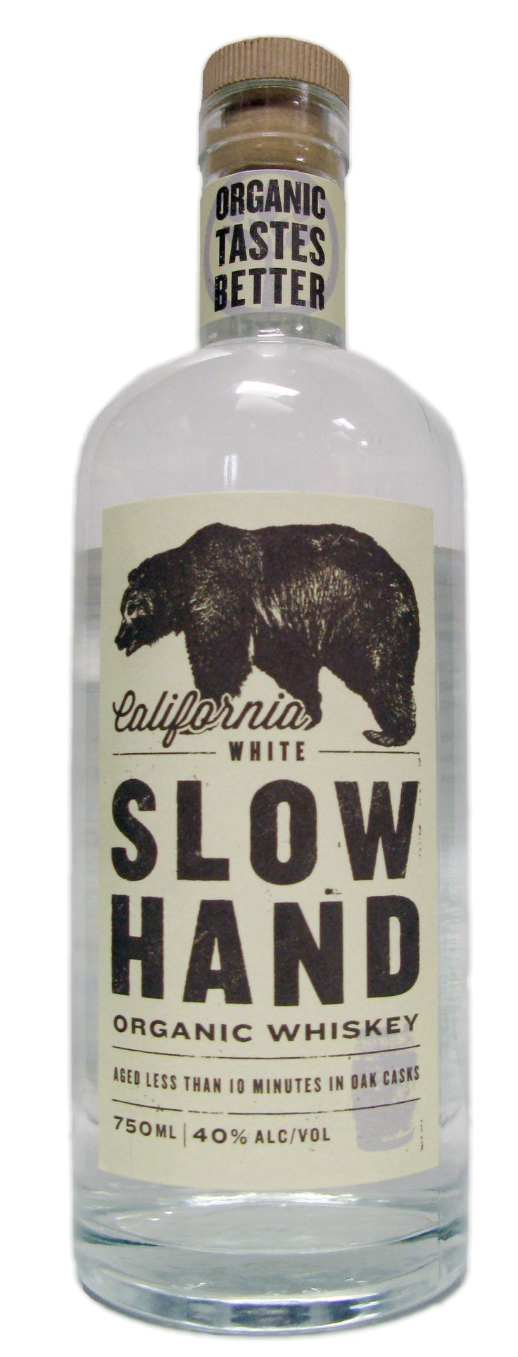 Slow Hand Organic Whiskey - GreenBar Collective serves up a new white spirit ready to drink now